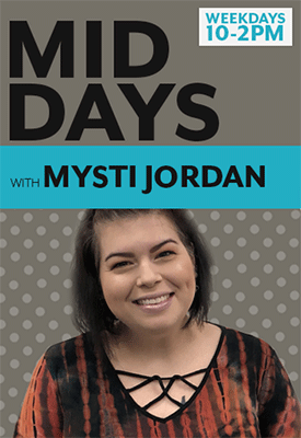 Mid Days with Mysti Jordan