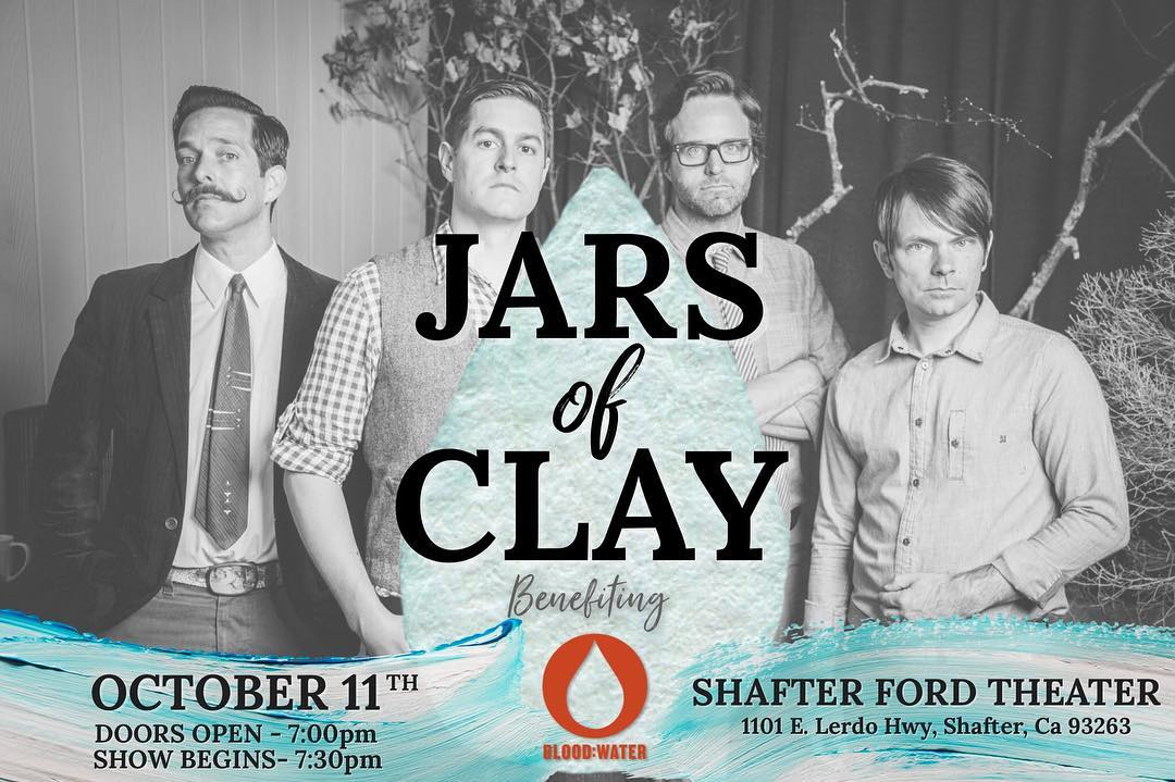 Fundraiser & Private concert with Jars of Clay